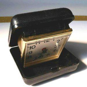 Westclox  Vintage travel size wind up alarm